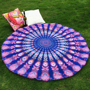 Ethnic Style Bikini Boho Swimwear Mandala Totem Soft Grass Cover Mat Satin Round Beach Throw Scarf