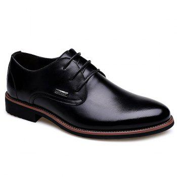 Fashion Pointed Toe and Lace-Up Design Men's Formal Shoes