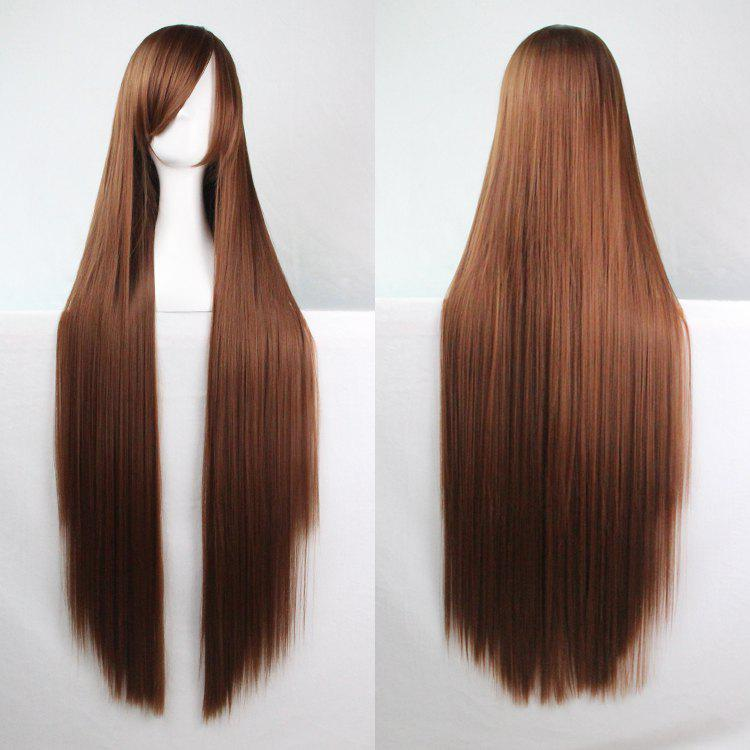 Long Glossy Straight Side Bang Harajuku Anime Synthetic Cosplay Wig нориюки уэда далай лама о главном