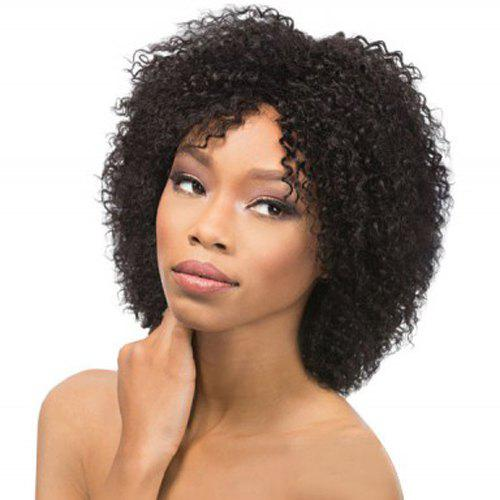 Vogue Synthetic Medium Black Afro Curly Hair Wig For Women слюсаренко с синтез