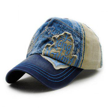 Fashion Letter Embroidery Rag Decorated Do Old Men's Summer Baseball Hat