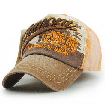 Stylish Letter Embroidery Do Old Unisex Outdoor Baseball Hat