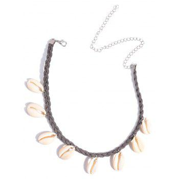 Braid Shell Chokers Necklace