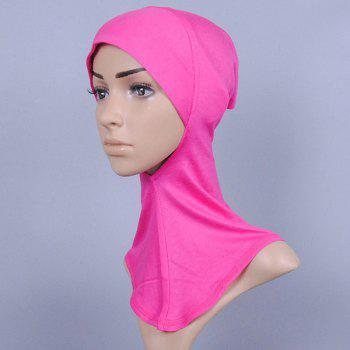 Simple Women's Various Color Hijab Islamic Neck Cover Head Wear Cap Scarf
