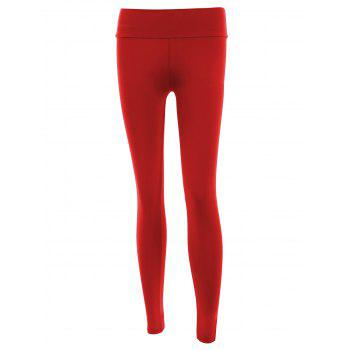 Stylish Solid Color Stretchy Yoga Women's Pants