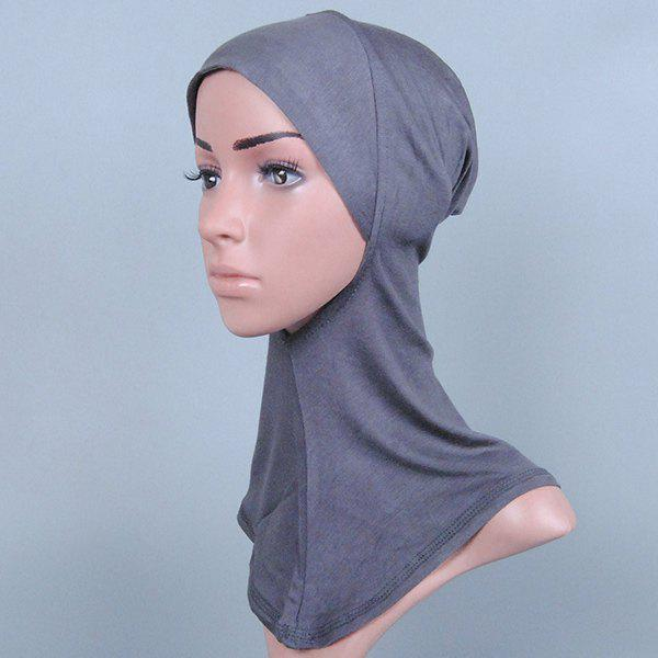 Simple Women's Various Color Hijab Islamic Neck Cover Head Wear Cap Scarf flg free shipping pull out spray gold kitchen faucet hot and cold vegetables basin rotating taps all copper water mixer c003g