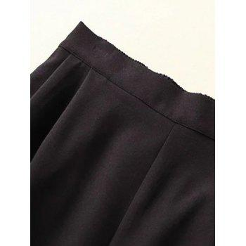 Plus Size Wide Leg Culotte Pants - 3XL 3XL