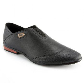 Stylish Slip-On and Solid Color Design Men's Casual Shoes