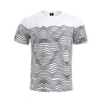 BoyNewYork Wavy Stripes T-Shirt