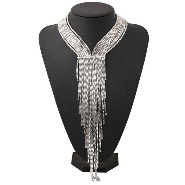 Chic Multilayered Alloy Necklace For Women