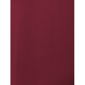 Tank A Line Casual Everyday Dress - WINE RED XL