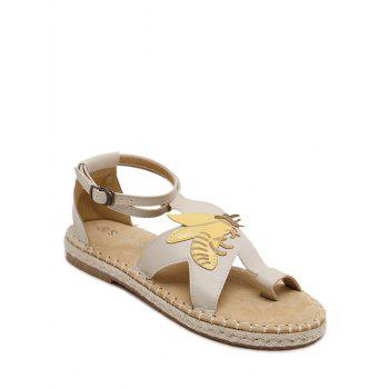 Casual Insect and Toe Loop Design Women's Sandals