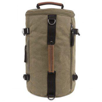 Leisure Zippers and Canvas Design Men's Backpack