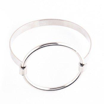 Big Round Circle Hollow Out Bracelet
