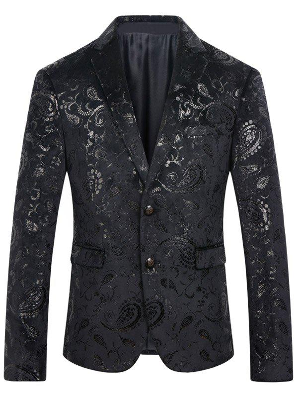 Men's Casual Abstract Printed Blazer