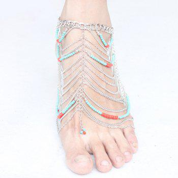 Bohemia Multilayered Beads Anklet