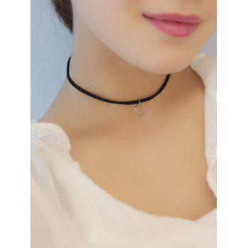 Circle Alloy Choker Necklace