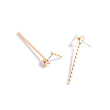 Alloy Minimalist Design Earrings - GOLDEN