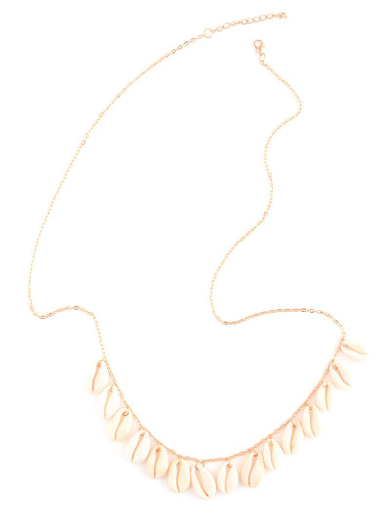 Shells Tassel Belly Chain - GOLDEN
