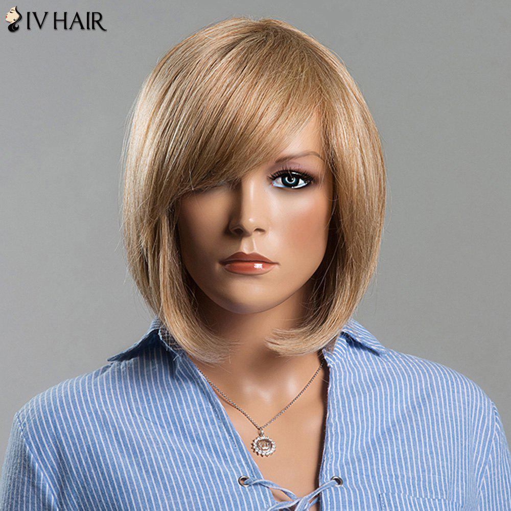 Attractive Short Straight Side Bang Women's Siv Human Hair Wig от Dresslily.com INT