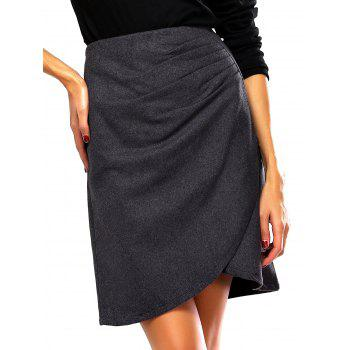 Back Zippered Skirt