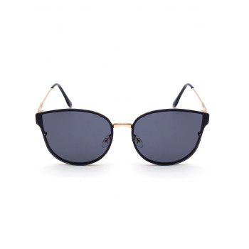 Stylish Black Butterfly Sunglasses For Women - BLACK