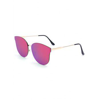 Stylish Black Butterfly Mirrored Sunglasses For Women