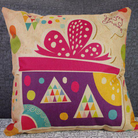 High Quality Geometry Festival Gift Combination Design Pillow Case - COLORFUL