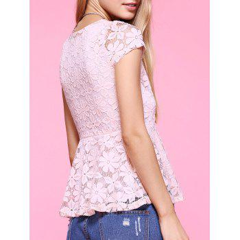 Sweet Lace Floral Blouse