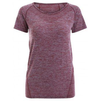 Raglan Short Sleeve Sport Running T-Shirt