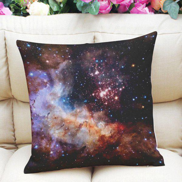 Sweet Home Decor Square Bright Sky Pattern Pillow Case - COLORMIX