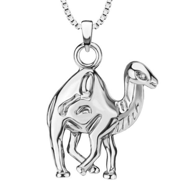 Vintage Camel Necklace - SILVER