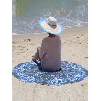 Floral Pattern Sarong Beach Throw - ONE SIZE(FIT SIZE XS TO M) ONE SIZE(FIT SIZE XS TO M)
