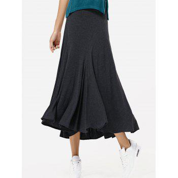 Fashion High Waisted Irregular Hem Skirt For Women