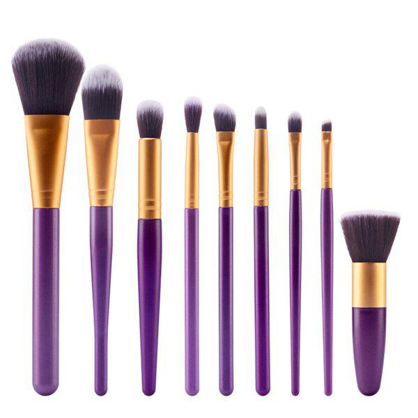 Professional 9 Pcs Nylon Face Eye Lip Makeup Brushes Set 15 pcs nylon face eye lip makeup brushes set