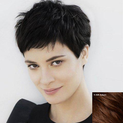17 Off 2019 Ultrashort Human Hair Wig Masculine For Women In