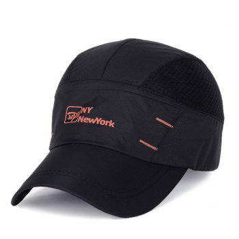 Stylish Outdoor Breathable Anti UV Quick Dry Sunscreen Baseball Hat