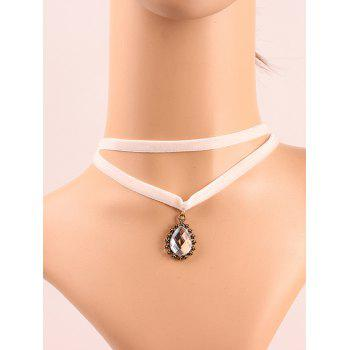 Layered Faux Crystal Choker