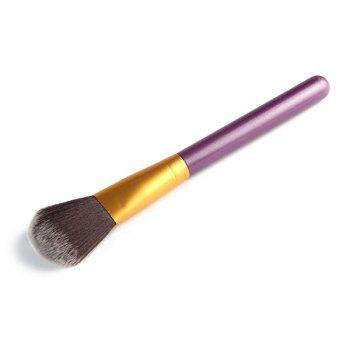 Professional Soft Nylon Blush Brush - PURPLE PURPLE