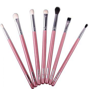 Professional 7 Pcs Multifunction Soft Horse Hair Eye Makeup Brushes Set