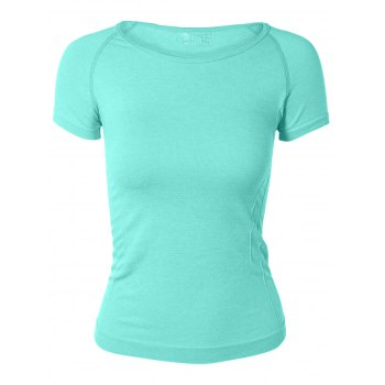 Candy Color Sport Running Gym T-Shirt