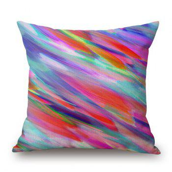 Buy Sweet Colorful Water Painting Mixture Design Sofa Pillow Case