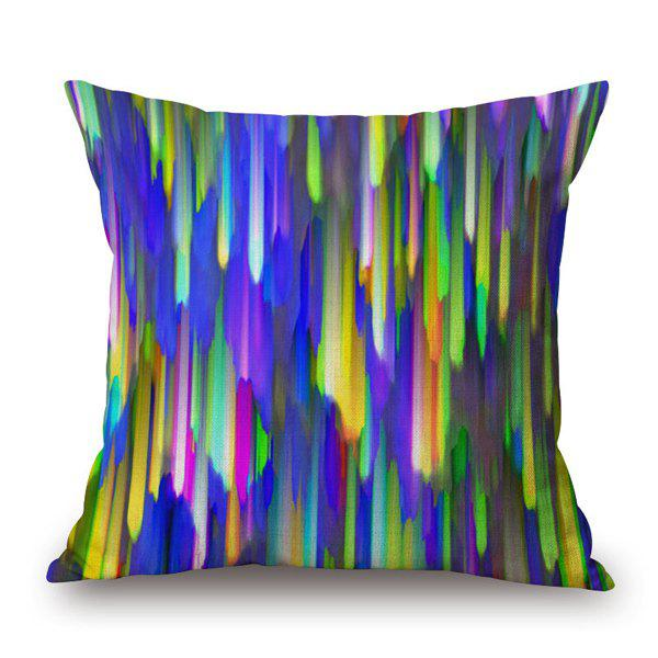 Gorgeous Colorful Painting Glow Light Stick Design Pillow Case - COLORFUL