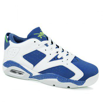 Stylish Breathable and Tie Up Design Men's Athletic Shoes