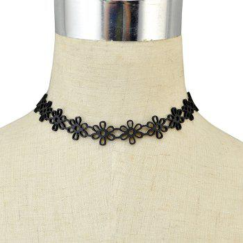 Hollowed Daisy Choker Necklace