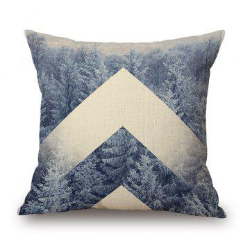 Buy Stylish Nature Tree Forest Snow Winter Pattern Pillow Case