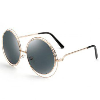 Chic Women's Hollow Out Round Sunglasses