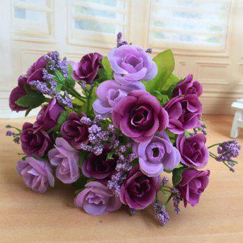 High Quality A Bouquet of Wedding Party Living Room Decor Artificial Rose