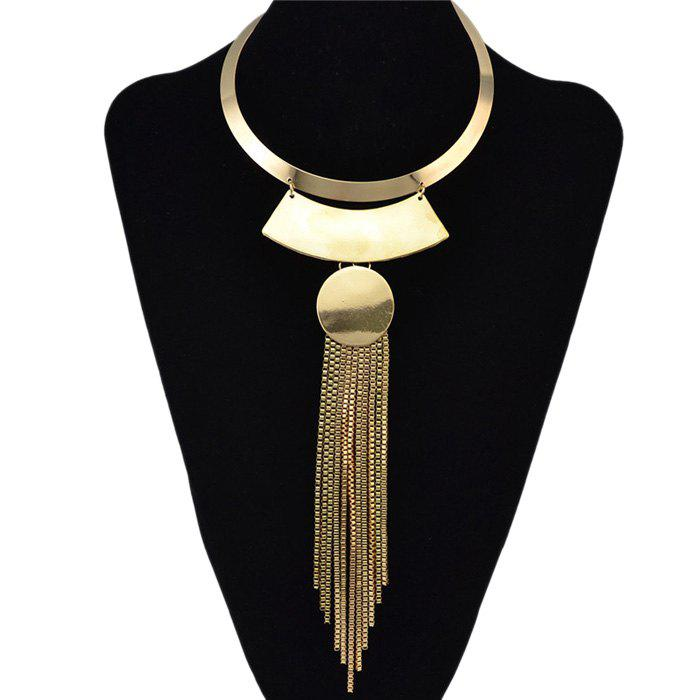 Long Fringe Disc Torques - GOLDEN