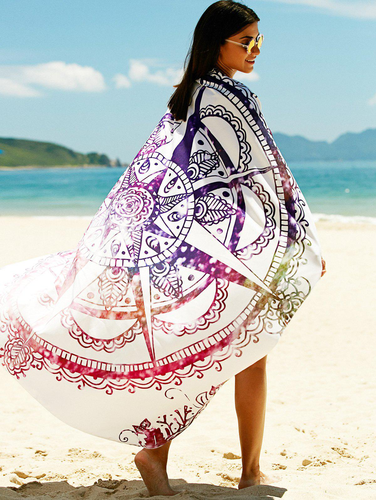 Women's Printed Sun Resistant Cover Up - COLORMIX ONE SIZE
